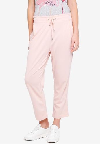 ESPRIT pink Racing Stripes Track Pants 83705AAAFBB70BGS_1