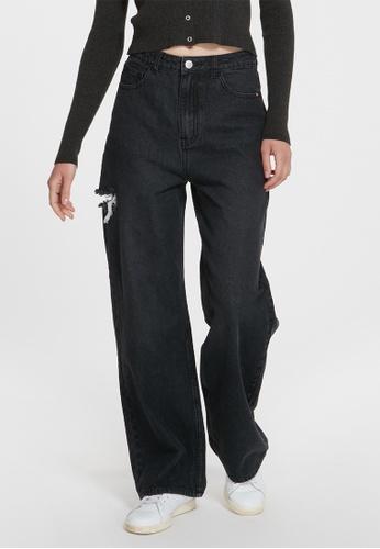 6IXTY8IGHT black MEDI, High Waist Straight-Leg Jeans PN08984 D4C97AA42DE5F7GS_1