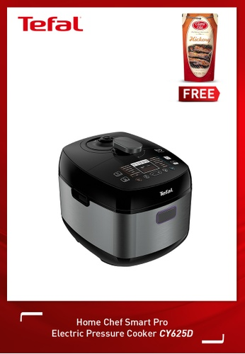Tefal black Home Chef Smart Pro Electric Pressure Cooker 3C176HL9F3A8B3GS_1