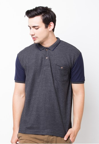 Bloop Polo Shirt E Pocket Navyvrs M Black BLP-OG136