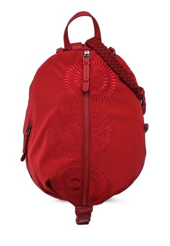 Desigual red Mandalas Backpack CF496AC2717E74GS_1