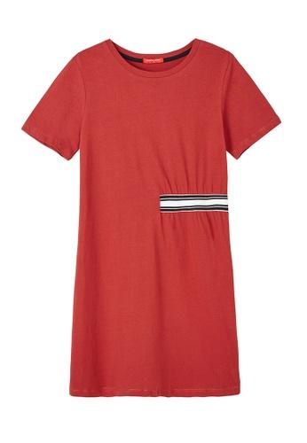 Cheetah Cheetah Ladies Casual Short Sleeves Dress - CL-19400-C1   27612AA02699F0GS_1