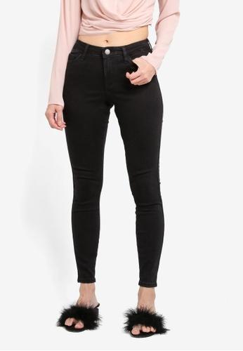 Miss Selfridge black Black Skinny Jeans ECA43AAAF69A43GS_1