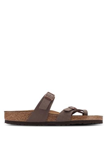 Birkenstock brown Mayari Sandals BI090SH49HNUMY_1