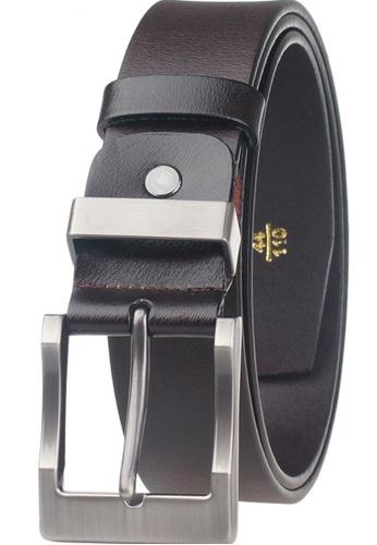 FANYU Men Genuine Leather Belt Coffee FA549AC48QVNSG_1