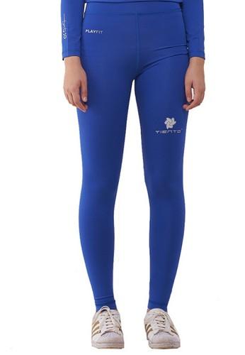 Jual Tiento Tiento Women Long Pants Blue Celana Legging Leging Lejing Wanita Olahraga Original Original Zalora Indonesia