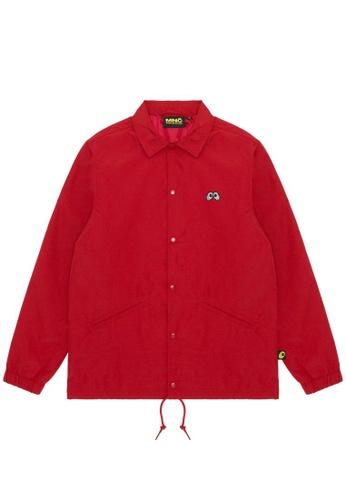 Mini cream red MNC Logo coach jacket DDDAAAA03A40EBGS_1