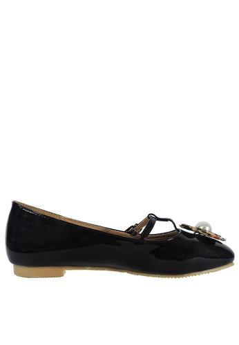 Jacque black Guccie Dark Bronze Flats JA262SH52EZBMY_1