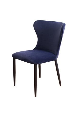 Joy Design Studio Kirkby Chair Navy Blue 26C36HLB8A525DGS_1
