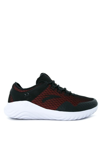 Anta black and white and red Casual Shoes AN488SH02KOZPH_1