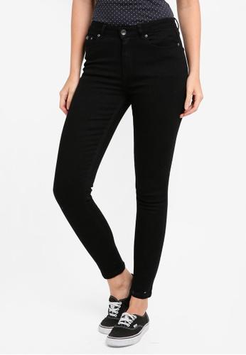 Superdry black Sophia High Waist Super Skinny Jeans SU137AA0T21TMY_1