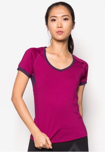 AVIVA purple Short Sleeve T-Shirt AV679AA48KPRMY_1