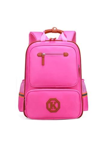 Twenty Eight Shoes pink VANSA Nylon Backpacks VAK-Bp1805 95068KC4CDD82DGS_1