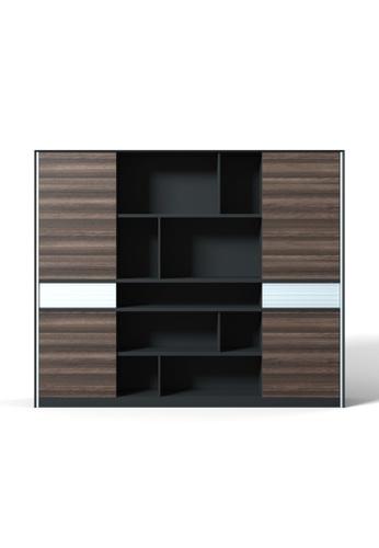 AMERCIS Amercis Sendit Series 2400L Full Height Wooden Cabinet ABB59HLF131057GS_1