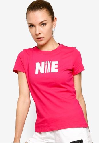 Nike pink As Women's Icon Clash Tee 886F9AA09F02E8GS_1