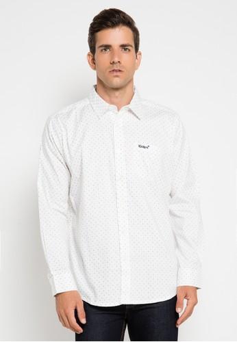Kickers white Shirt Man KI071AA0UH47ID_1