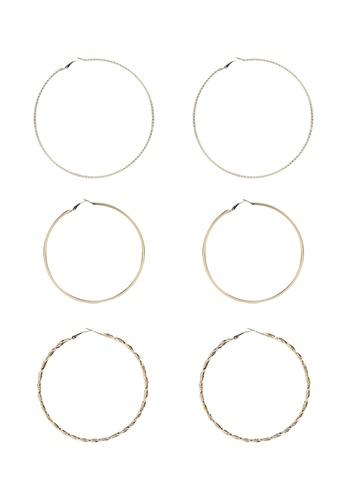 ALDO gold Berradda Pierced Earrings F9B12ACF5A5B2BGS_1