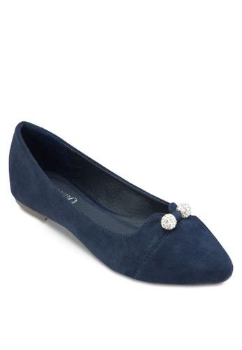 經典尖esprit 鞋頭平底鞋, 女鞋, 鞋