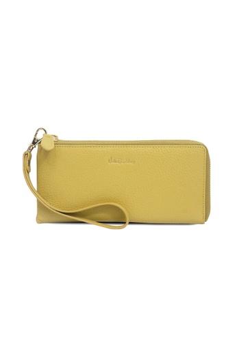 Valentino Rudy yellow Valentino Rudy Zip Around Wristlet C3F2DAC1A00D0AGS_1