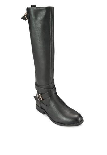 Bandorra 混合材質高筒靴, esprit台灣官網女鞋, 鞋
