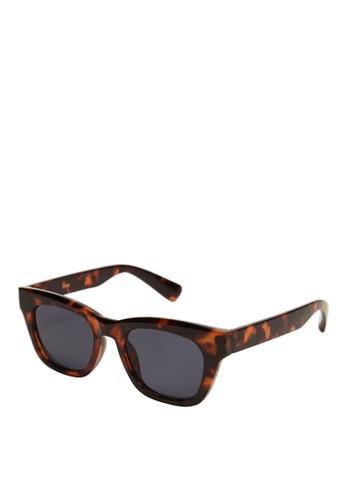 Mango brown Tortoiseshell Sunglasses 288F8GL2EA99F8GS_1