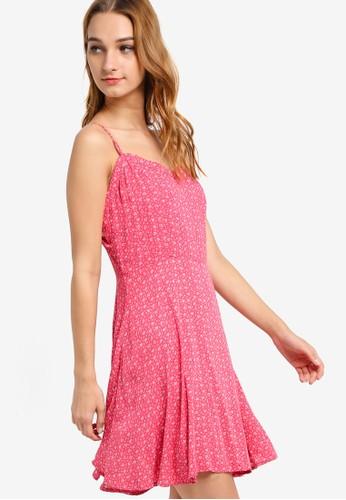 WV Krissy 細肩帶洋裝, 服zalora 衣服尺寸飾, 洋裝