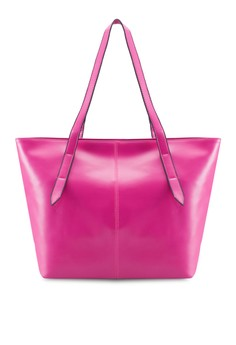 Bagstationz Faux Leather Tote Bag