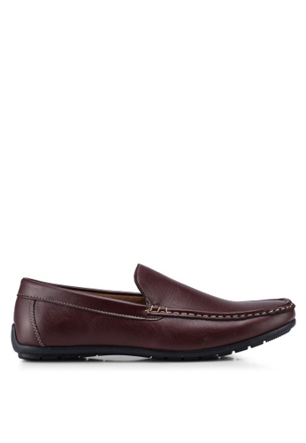 Bata red Classic Slip On Loafers C2BB4SHFF62AE4GS_1