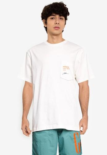 GAP white Surf Graphic T-Shirt 2FF97AA9DC00E4GS_1