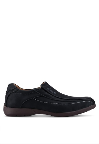Louis Cuppers black Slip On Casual Shoes 25308SH469238AGS_1
