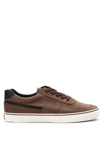 Italianos brown Javier Sneakers IT153SH41BJYPH_1