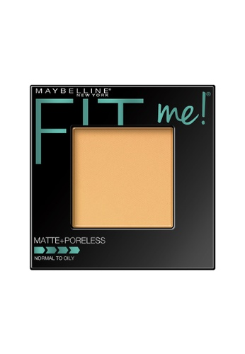 Maybelline Maybelline Fit Me Matte + Poreless Pressed Powder (220 Natural Beige) MA671BE0RW7AMY_1