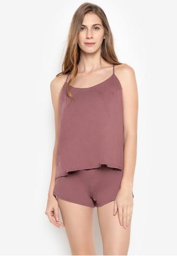 moondaze pink Lauren Teddy Sleepwear Set 0DAD6AAC529D8FGS_1