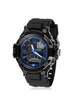 Men's Multifunctional Digital Rubber Watch
