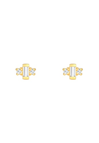 ELLI GERMANY white Gold Gemstones Ear Studs 48950AC77DEFE4GS_1