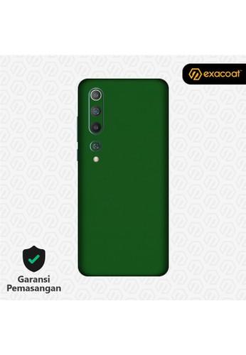Exacoat Xiaomi Mi 10 3M Skins True Colors - Emerald Green 90F00ES6FE74CAGS_1