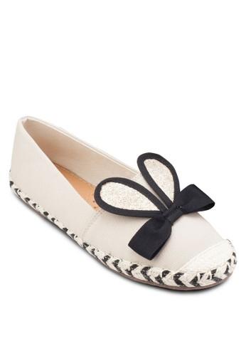 兔耳朵麻跟懶人鞋, 女esprit 旺角鞋, 鞋