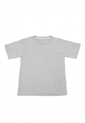 TRENDYVALLEY grey Trendyvalley Vagorah Organic Cotton Adult Wear / Family Wear Tshirt Tee Shirt (Grey) FE79CAA7804E0EGS_1
