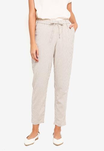 Vero Moda beige Kathy Citrus Ankle Pants 86CC7AAF51FC70GS_1