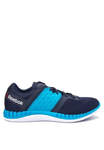 Reebok navy ZPrint Run Neo Running Shoes RE600SH69SFUPH_1