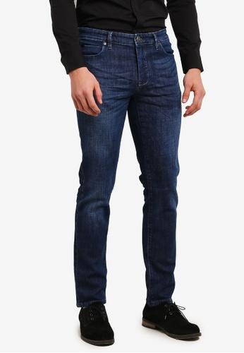 Calvin Klein 藍色 Body Straight Jeans - Calvin Klein Jeans CA221AA0SA4PMY_1