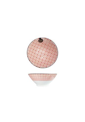 Table Matters multi Crisscross Red - 7 inch Ramen Bowl 0FEB7HLC983661GS_1