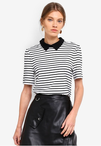 ESPRIT black Short Sleeve T-Shirt 8AFF4AA9EB3817GS_1