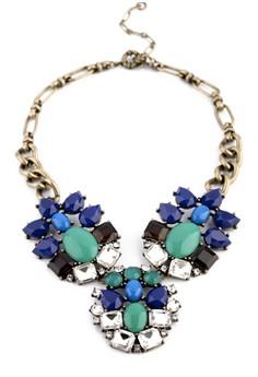 Peacock Gemstone Necklace