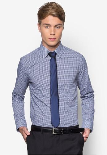 格紋長袖襯衫領esprit outlet尖沙咀帶組合, 服飾, 服飾