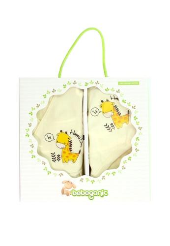 Bebeganic yellow 100% GOTS Certified Organic Cotton Sleeping Bag, Double Layer Blanket 562E0KC5CF36F9GS_1