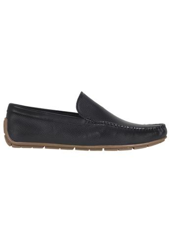 Tomaz black Tomaz C294 Perforated Slip On Loafers (Black) E34FCSHB03E4AEGS_1