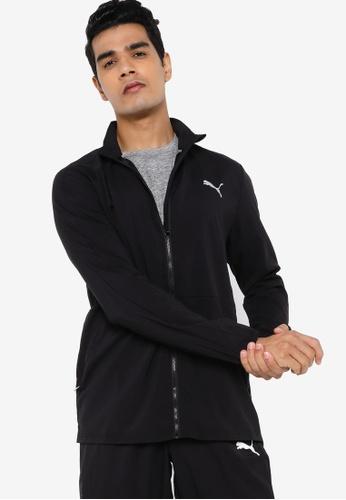 PUMA black Favourite Woven Men's Running Jacket 7D972AACC01C3AGS_1
