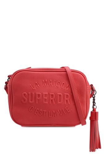Superdry pink Delwen Crossbody Bag 8A473AC66902A5GS_1