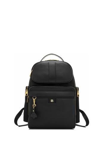 BONIA black Black Astron Backpack AE2E4ACE302175GS_1